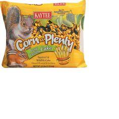Kaytee Corn A Plenty Squirrel and Wildlife Cake