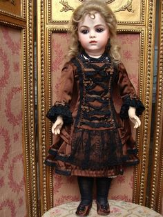 Adorable antique french BRU Bebe size 8 found on Ruby Lane