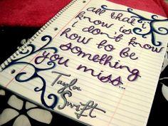 Last Kiss lyrics - Taylor Swift
