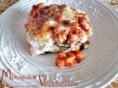 Moussaka vegetariana - Ricetta piatto unico, La cucina di ASI