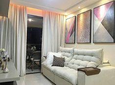 32 Sofás para Sala Pequena com Designs Ideais! Interior Exterior, Interior Design, Sala Grande, Drawing Room, Little Houses, Inspired Homes, Small Apartments, New Furniture, Sweet Home