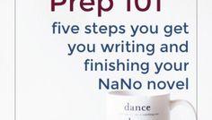 NaNo Prep 101