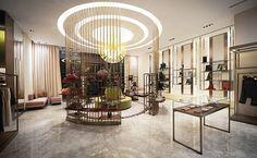 L'Aurora luxury fashion store by Stefano Tordiglione Design, Guangzhou » Retail Design Blog