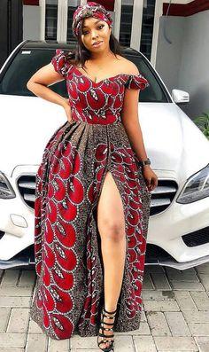 African print maxi dress-Ankara maxi dress-dress-African print dress-African fashion-African women fashion-African dress for christmas Ankara Maxi Dress, African Maxi Dresses, Latest African Fashion Dresses, African Print Fashion, Africa Fashion, Ankara Fashion, African Prints, African Wear, African Attire