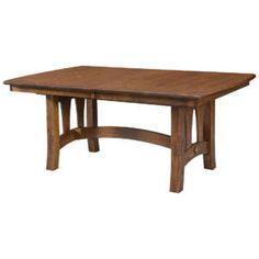 65855 Naperville Trestle Table Amish Furniture, Dining Furniture, Custom Furniture, Home Furniture, Trestle Table, Oak Table, Buy Dining Table, Dining Bench, Quarter Sawn White Oak