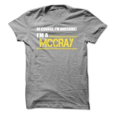 I am a MCCRAY-tkaezzjycn - #disney shirt #tshirt feminina. MORE ITEMS => https://www.sunfrog.com/Names/I-am-a-MCCRAY-tkaezzjycn.html?68278