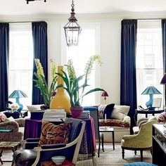The Aesthete: Living Rooms : Architectural Digest