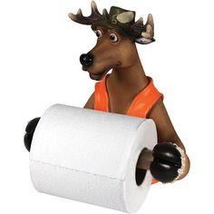 Deer Hunter Toilet Tissue Holder – Baubles-N-Bling