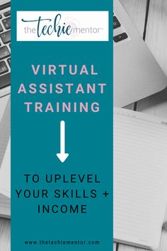 Are you looking to start a Virtual Assistant business or ready to scale your business? Wether you are new or wanted to learn new skills, The Techie Mentor has virtual assistant training programs to help you reach your business goals. Take a look at what programs I offer and reach out with any questions! For more virtual assistant business tips follow me @thetechiementor.