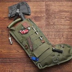Tactical Xmas Stocking. This is just the stocking...