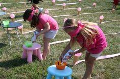 build-a-sundae relay race!