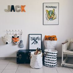 WOLF + FRIENDS — Easy, Modern Toy Storage Ideas For Toddlers.