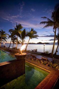 TokorikiLuxury resort located in the northern most Mamanuca island, Fiji. Features beachfront bures and pool villas with breathtaking views over the ocean.  Fiji - I loved it!  ASPEN CREEK TRAVEL - karen@aspencreektravel.com