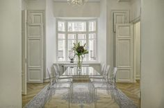 What a light Decor, Furniture, Room, Ghost Chair, Dining, Chair, Home Decor, Light, Dining Room