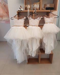 Buy Lovely Flower Girl Dresses Cap Sleeve Pearls Appliques High Low Wedding Party Dress in uk. Find the perfect flower girl dresses at FabFba. Our flower girl dresses come in a variety of styles & colors including lace, tulle, purple & gold White Flower Girl Dresses, Lace Flower Girls, Lace Flowers, Girls Pageant Dresses, Prom Dresses Online, Dress Online, Wedding Party Dresses, Bridesmaid Dresses, Cap Dress