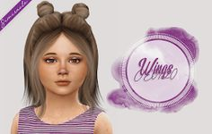 Sims 4 CC's – The Best: Toddlers & Kids Hair by Simiracle Sims 4 CC's – Das Beste: Kleinkinder- und Kinderhaar von Simiracle Sims 4 Toddler, Toddler Hair, Hair Kids, Children Hair, Sims Mods, My Sims, Sims Cc, Pelo Sims, The Sims 4 Cabelos