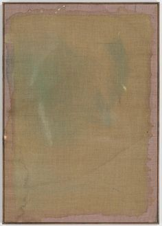 Sergej Jensen.  Untitled, 2011. oil and acrylic on sewn wool. 40x82 3/4in