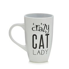 This mug and tea bag set will make a great gift this season. Featuring a mug with the phrase 'Crazy Cat Lady' across the front and a set of five English tea bags, the charming set is perfect for any cat lover.