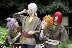 Young Jiraiya - Nagato - Yahiko - Konan... So  moeee!! =3 ::Naruto Shippuden::