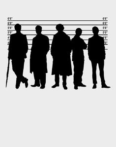 Okay, if you are a true Sherlockian, you'll be able to tell who is who in this. It's quite obvious.