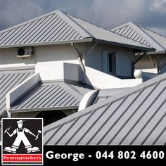 From corrugated #roofing, to clay roof tiles; various sizes and assorted colours. We at #Pennypinchers #George are here to help.