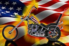 Easy Rider Art | Easy Rider by Tommy Anderson