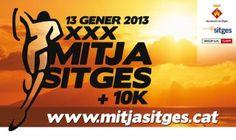 Mitja i Quart Marató de Sitges 2013