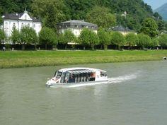 Salzburg Stadt Schiff-Fahrt - Picture of Salzach River Boat Cruises, Salzburg - Tripadvisor Cruise Boat, Innsbruck, Amazing Adventures, Cruises, Alps, Trip Advisor, River, Photo And Video, Mansions