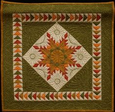 FEATHERED STAR QUILT..........PC