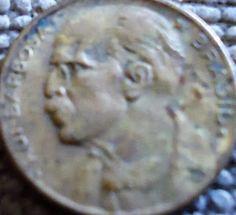 moedas brasileiras antigas 20 centavos - 1954 - verso Rui Barbosa