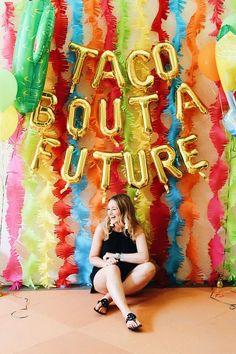 Abschlussfeier Ideen, Abschlussfeier, Taco Bout A Future, Party, Fiesta - Decoration For Home Graduation Party Themes, College Graduation Parties, Graduation Celebration, Grad Parties, Graduation Gifts, Graduation Ideas, Graduation Invitations, Graduation Backdrops, Graduation Parties