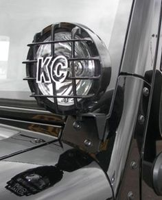 KC Hilites windshield light bracket for 07-10 JK Jeep