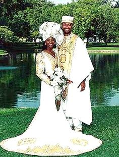 african wedding dress. I love the shape and the design of the dress