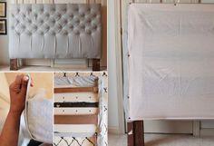 50 Schlafzimmer Ideen für Bett Kopfteil selber machen | Kopfteil ...