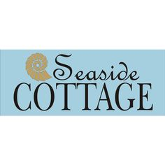 Seaside Cottage or Beach Cottage Beach Signs Stencils 4 Sizes... ($16) ❤ liked on Polyvore featuring home, home decor, wall art, grey, home & living, home décor, seaside home decor, typography wall art, text signs and beach wall art