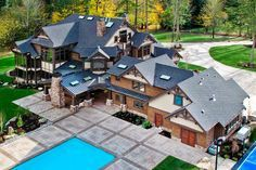 Craftsman Style House Plan - 7 Beds 8.5 Baths 8515 Sq/Ft Plan #132-218 Exterior - Other Elevation - Houseplans.com