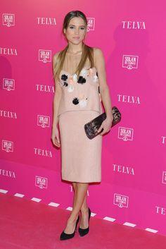 Premios T Telva Belleza 2014 Nice dress.