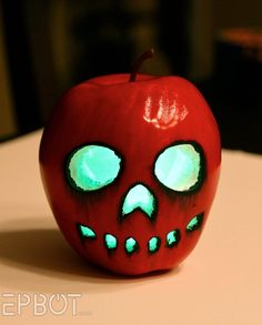 EPBOT: Halloween DIY: Make A Glowing Poison Apple for Less Than $3!