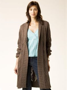 "crochet coat patterns | Topic: pattern for a long sweater ""jacket"" (Read 5891 times)"