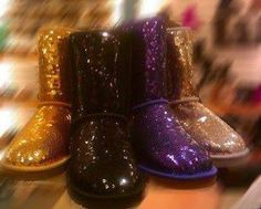 sparkly boots. I want the black onessss! I think they even have them at walmart...