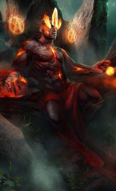 """quarkmaster: """"  King of Pentacles Sergey Sneg """""""