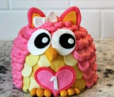 3D Owl Cake Instructions Are Very Easy To Follow