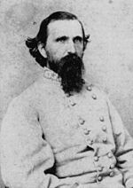Major General John Calvin Brown, CSA  (1827–1889.) In 1864, Brown fought in the Atlanta Campaign, at various times temporarily commanding a division.