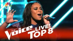 "The Voice 2015 Koryn Hawthorne - Top 8: ""Girl on Fire"""