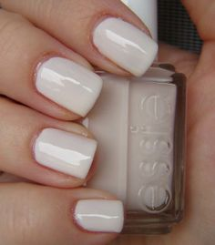 Essie -Baby´s Breath      love this color! wish I could wear it