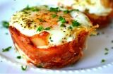 Mini Bacon Egg and Toast Cups ~ So easy! Making tomorrow morning. YUM!