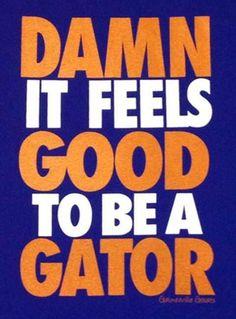 For the Gator good! Fla Gators, Uf Gator, Gator Game, Florida Gators Football, Sec Football, Braves Baseball, Football Love, Football Stuff, Football Season