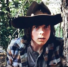 Carl, Season 5. Noo, i'm not a fangirl... why do you ask? :)