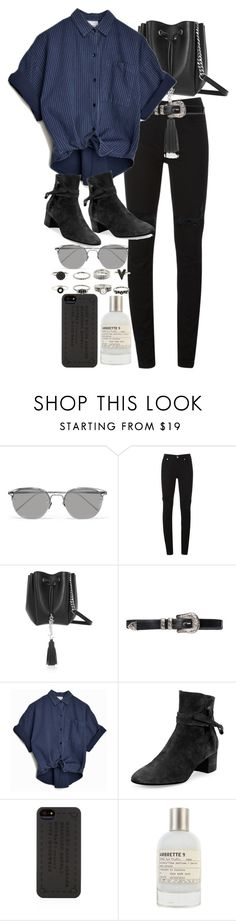 """""""Untitled #9269"""" by nikka-phillips ❤ liked on Polyvore featuring Linda Farrow, McQ by Alexander McQueen, Yves Saint Laurent, Gianvito Rossi, Marc by Marc Jacobs and Le Labo"""