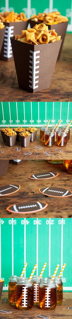 Don't forget these awesome Cricut ideas for Superbowl Sunday! #cricut